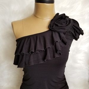 XOXO Off The Shoulder Ruffled Top - HOT ITEM!!